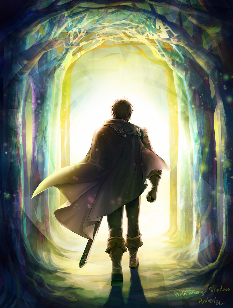 «Amber : Walk among shadows» mushstone (Deviantart)